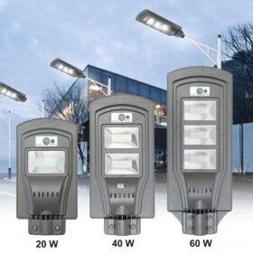 Led solarna ulična lampa