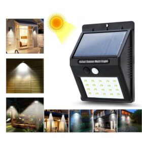 Solarni LED reflektor sa PIR senzorom-20 led dioda