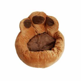 Ležaljka za pse izgled šape