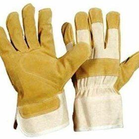 Kožna radna rukavica