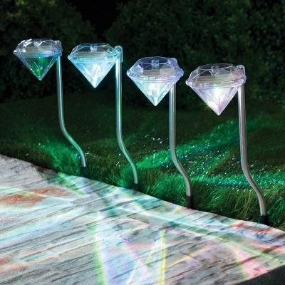 Vrtna lampa solarna Diamant