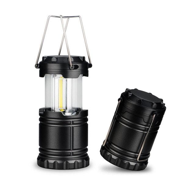 Kamp lampa na baterije LED Cob