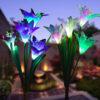 Vrtna solarna lampa lily