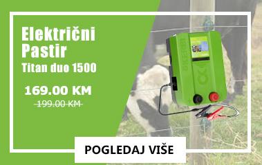 Električni pastir – Titan duo 1500